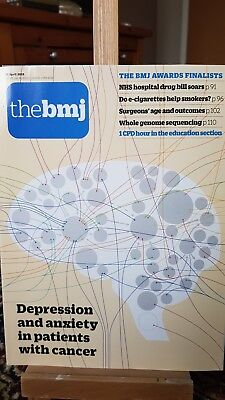 BMJ April 2018 No 8150 genome sequencing surgeons age depression anxiety cancer