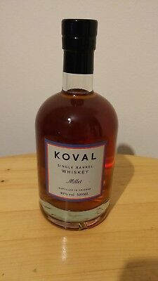 2x Koval Single Barrel Whisky  Bourbon/Millet (0.5 L, 47 %, 40%)
