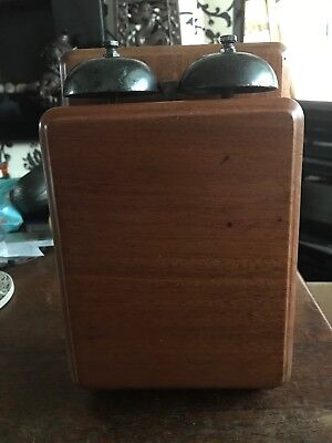 G.P.O. No.1 Wooden Bellset, 1930. Excellent Working Condition