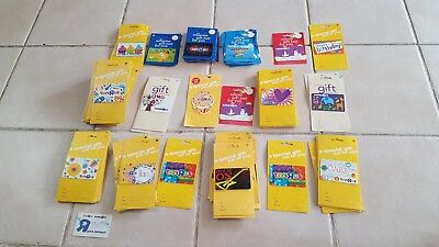 Toys R Us Gift Card (no value) Giraffe Babies R Us Gift Collection Lot 125 cards