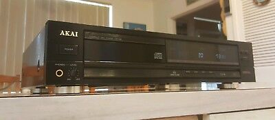 Vintage Akai Compact Disc/cd Player/made In Japan