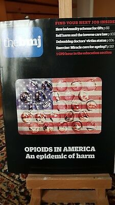 BMJ Oct 2017 No 8126 self harm opiods America doctors victim status exercise