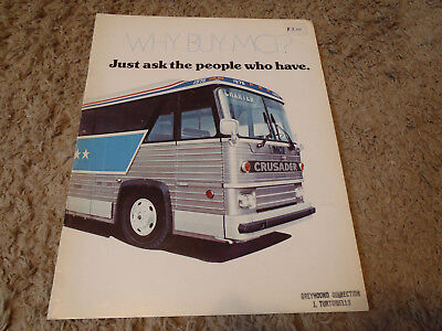 1976 MOTOR COACH Industries MCI MC-8 Bus Sales Brochure DT