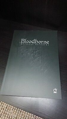 Bloodborne Official Artworks Softcover Art Book From Software