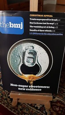 BMJ Jan 2019 No 8181 non sugar sweeteners cochrane three wheels