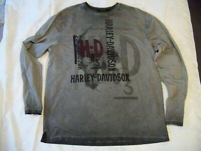 Harley Davidson Men's XL Long Sleeved T-shirt