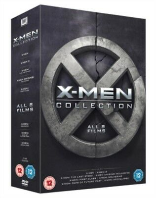 X-Men Collection (8 Films) (DVD 8 DISC BOX SET) *NEW/SEALED* FREE P&P