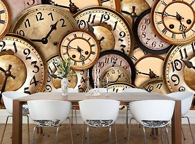 Watches  Wall Mural Photo Wallpaper GIANT WALL DECOR Free Glue