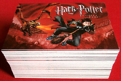 HARRY POTTER - GOBLET OF FIRE - COMPLETE BASE SET, 80 trading cards, Cards Inc