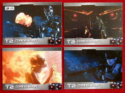 TERMINATOR 2 - JUDGMENT DAY - T2 - Hand Numbered Promo Card SET, LIMITED EDITION