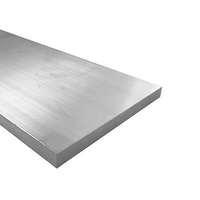 "1/4"" x 6"" Aluminum Flat Bar, 6061 Plate, 24"" Length, T6511 Mill Stock, 0.25"""