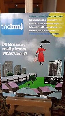 BMJ dec 2016 No 8085 nanny knows best homeless people shoulder pain fetal