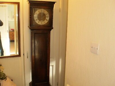 Long Case Grandfather Clock by R.Mc.DOWELL BELFAST for spares repair