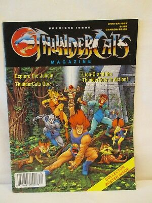 Thundercats magazine #1 Winter 1987 complete with poster