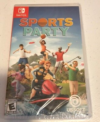 Sports Party (Nintendo Switch) Brand New Factory Sealed