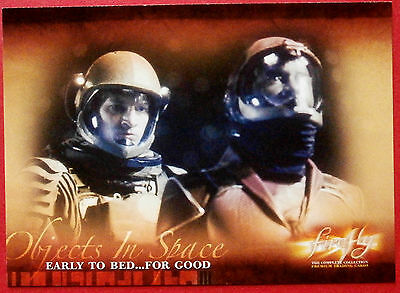 Joss Whedon's FIREFLY - Card #54 - Early to Bed... For Good - Inkworks 2006