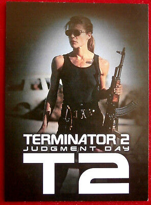 TERMINATOR 2 - JUDGMENT DAY - T2 - Promo Card B2 - Unstoppable Cards 2017