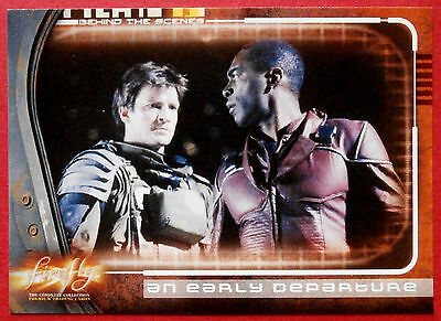 Joss Whedon's FIREFLY - Card #70 - An Early Departure - Inkworks 2006