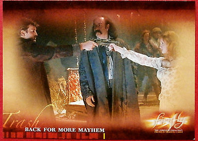 Joss Whedon's FIREFLY - Card #43 - Back for More Mayhem - Inkworks 2006
