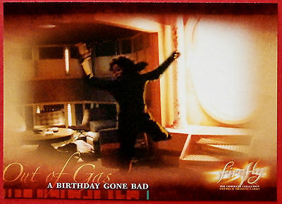 Joss Whedon's FIREFLY - Card #34 - A Birthday Gone Bad - Inkworks 2006