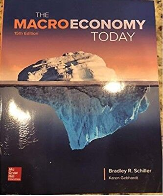 |e-Version| The Macro Economy Today 15th Edition by Schiller & Gebhardt