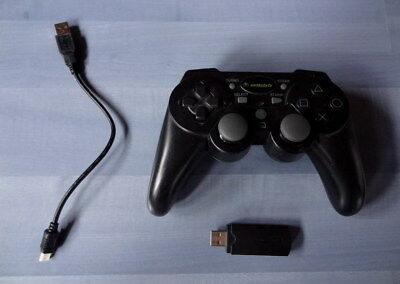 1 Controller wireless mit Vibration von Snakebyte fuer PS3 Playstation 3