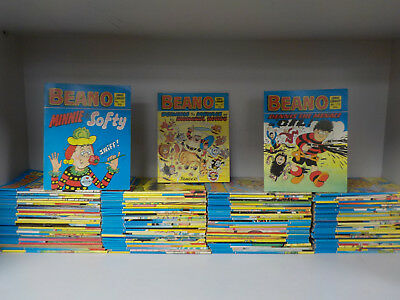 The Beano Comic Library - 122 Comics Collection! (ID:3845)