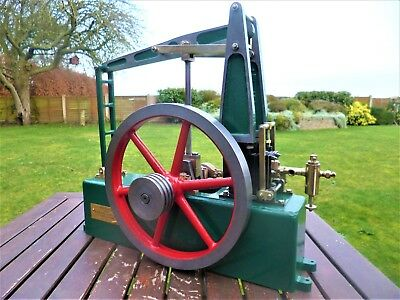 "Steam Grasshopper / Half Beam Engine with 8"" flywheel, ( larger than a Stuart )"