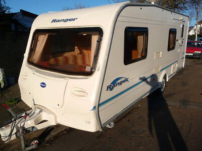 2006 Bailey Ranger 6 berth caravan with Awning