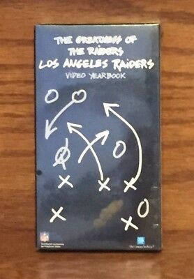 The Greatness Of The LOS ANGELES RAIDERS VIDEO YEARBOOK LA 1991 VHS VIDEOTAPE