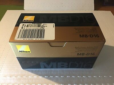 Nikon Camera MB-D16 MBD 16 Multi Power Battery Pack Grip D750 NEW