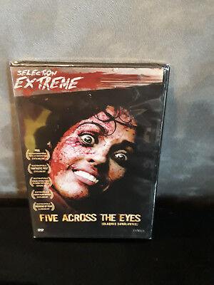 DVD - FIVE ACROSS THE EYES (Claques Sanglantes) / HORREUR / NEUF SOUS BLISTER