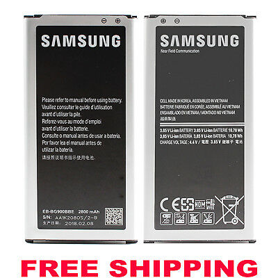 For Samsung Galaxy S5 Active G870A New OEM Original EB-BG900BBU 2800mAh Battery