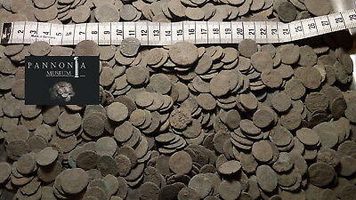 UNCLEANED ANCIENT ROMAN BRONZE COINS 150 coins - 100% authentic