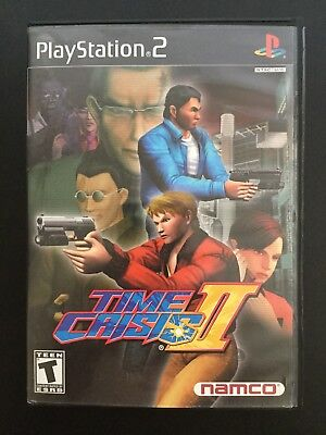 Time Crisis II 2 (Sony PlayStation 2, PS2)