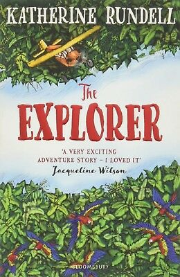 The Explorer by Katherine Rundell - Paperback Book
