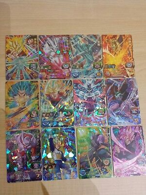 Dragon ball heroes UM 4 SR lote completo 12/12 dragonball card cards game jcc