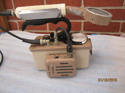Geiger Counter Eberline model E-120 with SK-1 speaker HP-260 probe