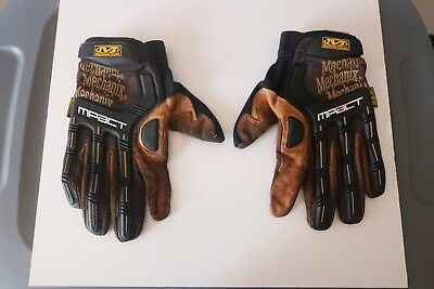 Mechanix Wear M-pact Men's Gloves Leather Impact Protection XX-Large