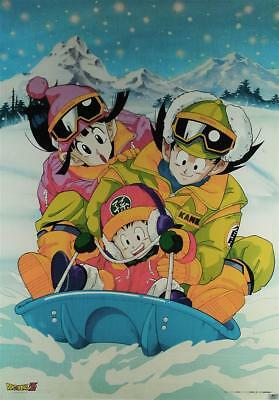 original anime poster dragon ball akira toriyama (manga cel toy)