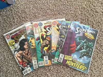 DC Superboy #50-56 Comic Lot