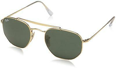 8685fac187dce4 Ray Ban RB3648 001 54-21 Marshal Gold Green G-15 Classic Lenses Sunglasses