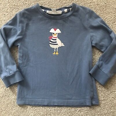 Little White Company Baby Boys Top Size 18-24 Months Pirate Seagull