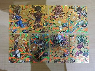 Dragon ball heroes UM 2 CP lote completo 16/16 dragonball card cards game jcc