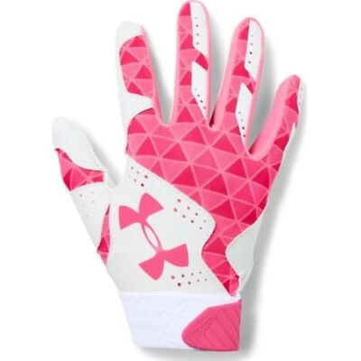 Under Armour Radar Womens Batting Gloves 1299550 - WH/CER - L