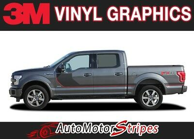 f163f651fbc36 Ford F-150 Door Stripes SIDELINE Special Edition Hockey Vinyl Graphic 3M  Decals