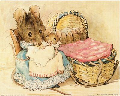 """The Tale of Two Bad Beatrix Potter Gift Fridge Magnet 2""""x3"""""""