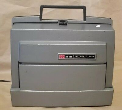 Kodak Instamatic M95 Movie Projector 8 mm Super 8 - As Is UNTESTED