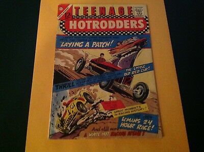 Comic Book Teenage Hot Rodder 1966 W/ 59 Impala/Hot Rod/Sports Car