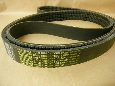 D/&D PowerDrive RBX67-3 Cogged Banded V Belt